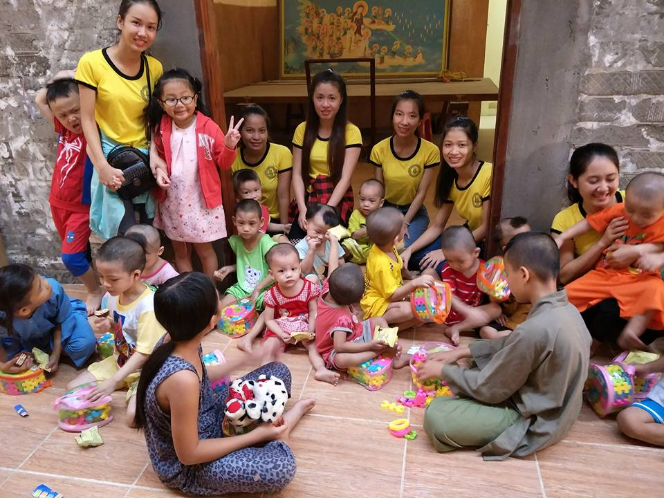 A charity trip for the children